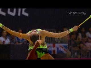 Художественная гимнастика. Лондон 2012. Лучшие моменты наших призеров.